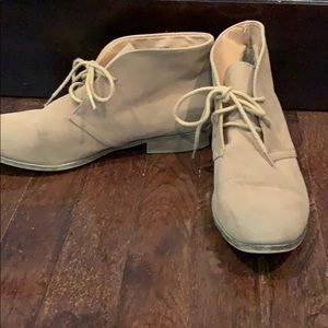 Madden Girl Shoes - Tan ankle booties